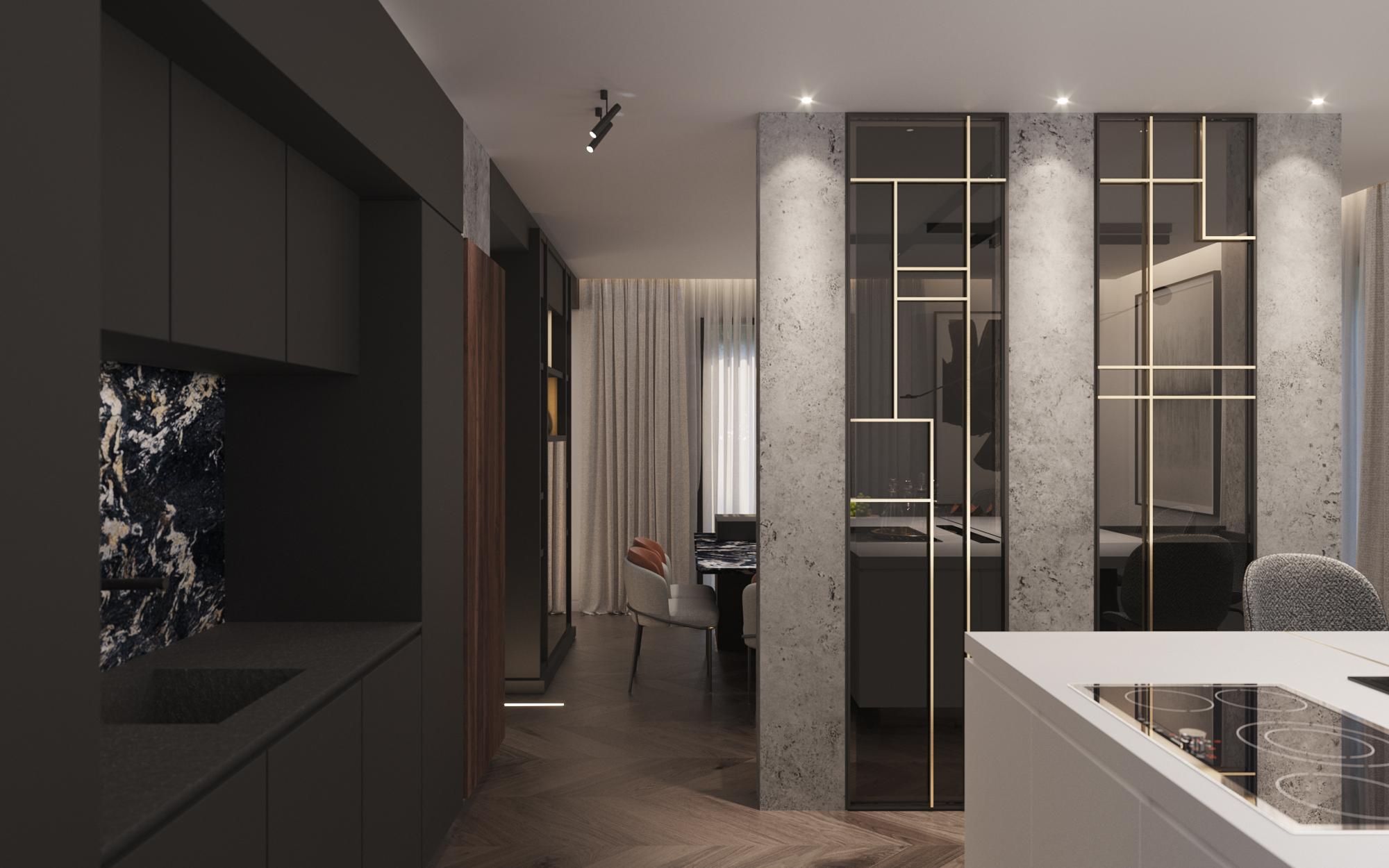 le pendu architecture interieur lyon projet appartement luxueux