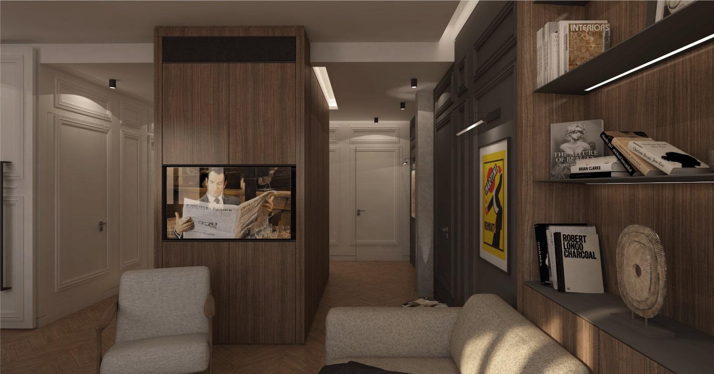 le pendu architecture interieur lyon realisation projet appartement luxe