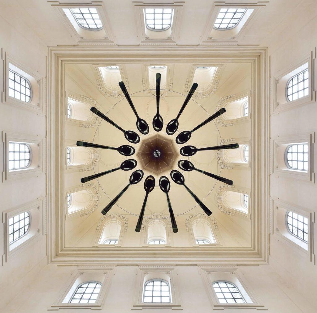 Le Pendu architecture interieur Vincent Breed artisan verrier oeuvre faithfood