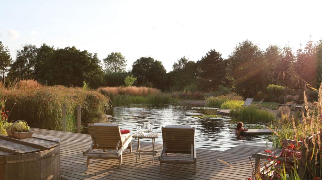Le Pendu - La piscine naturelle, un compromis entre luxe et écologie