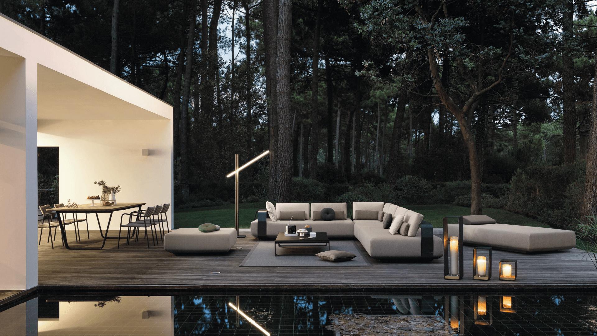 Le Pendu - Manutti meubles design de jardin luxe