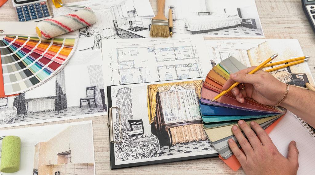 Fiche métier d'Arts : le décorateur d'intérieur - Agence Le Pendu