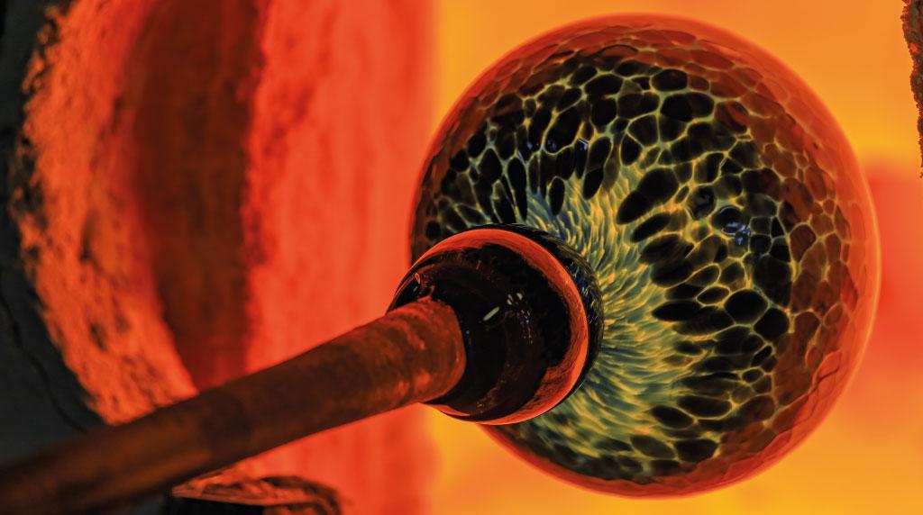 Métiers d'Arts : le souffleur de verre - Agence Le Pendu