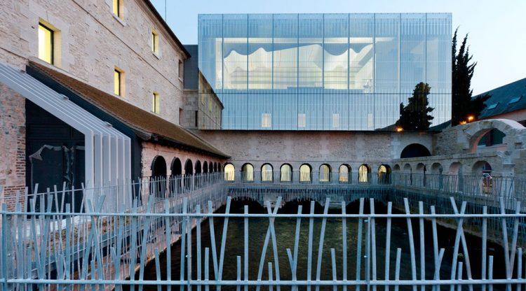 Le Pendu - Le miroir architecture - Ecole de musique Louviers