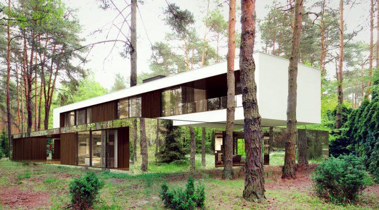Le Pendu - Le miroir architecture - Izabelin House - Reform Architekt